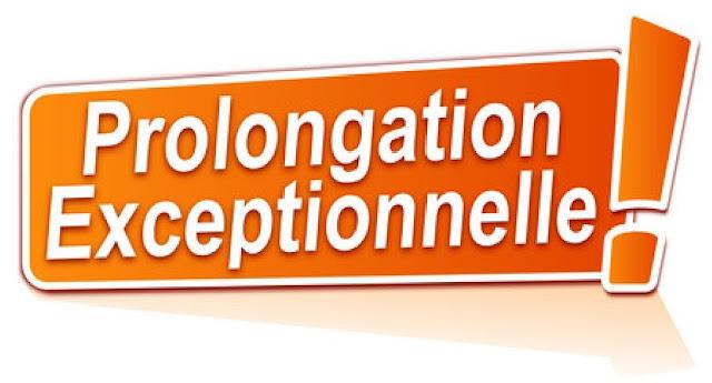 AVIS DE PROLONGATION D'OUVERTURE DES INSCRIPTIONS DE FORMATION CONTINUE JUSQU'AU MARS 2021