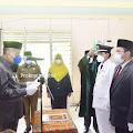 Syamsuddin Uti Lantik Pejabat Administrator Dilingkungan Pemkab Inhil