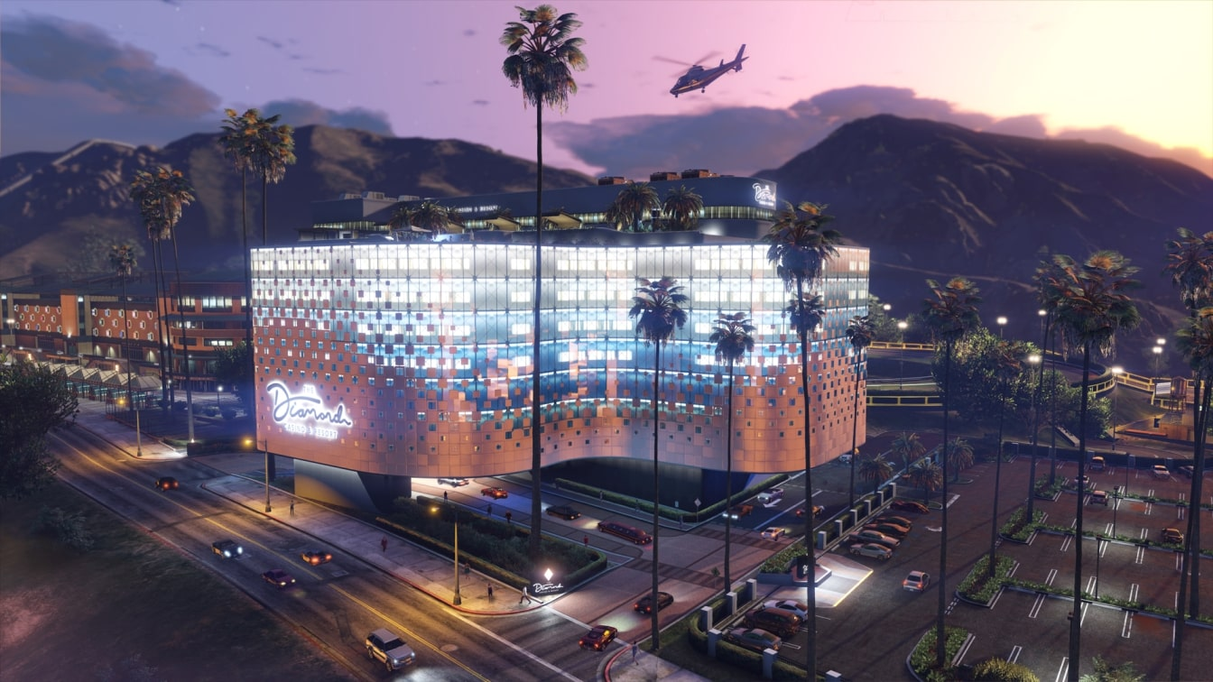 gta online diamond casino and resort