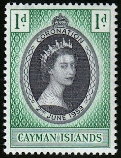 Cayman Islands 1953 Coronation of Queen Elizabeth II.