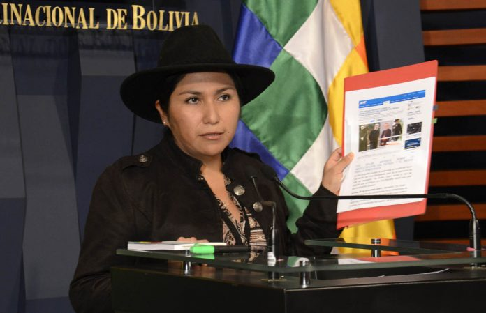 Paco fue férrea vocera del régimen contra la prensa nacional / ERBOL
