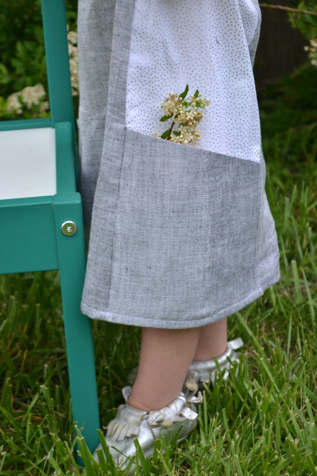 Sewing for the Girl: Ishi Dress Pattern Review