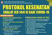 Protokol Kesehatan Shalat IED 1441 H Saat Pandemi Covid-19