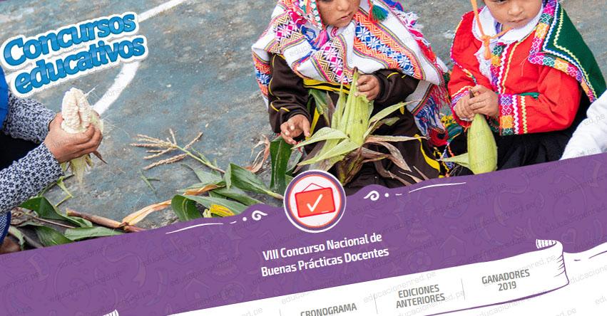 MINEDU: Inscripción VIII Concurso Nacional de Buenas Prácticas Docentes hasta el 30 de setiembre