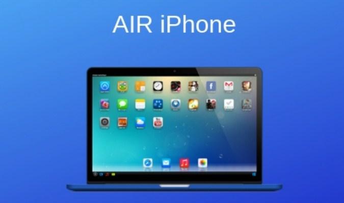 Emulator tuk Jalankan Aplikasi iOS di Laptop/PC - AIR iPhone