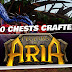 Legends of Aria Gameplay by Kabalyero! 80 Chests Crafted! Order Complete!