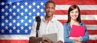 US flag International Students