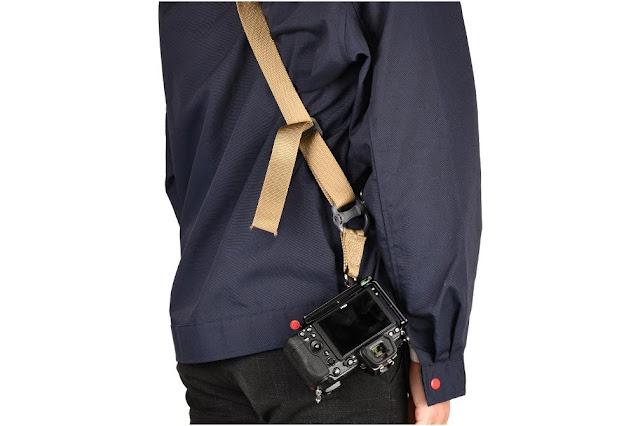 Sunwayfoto PNLO-Z6II L Bracket on Nikon Z6II w/ Sling Strap