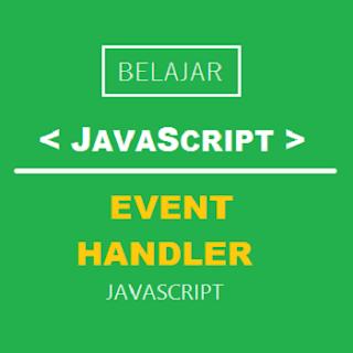 event handler javascript