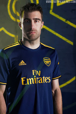 Arsenal 19 20 Third Kit Released Footy Headlines