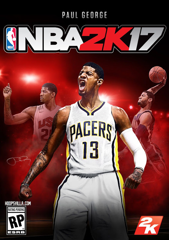 Paul George Announced as NBA 2K17 Cover Player