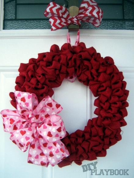 Valentine's Day Wreath Tutorial