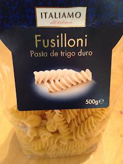 Pasta  Bolognesa, ingredientes 1