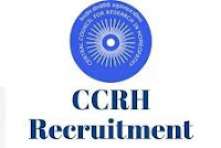 8 Homoeopathy Junior Research Fellow Vacancy in CCRH