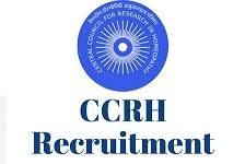 Senior Research Fellow Vacancy in CCRH, New Delhi