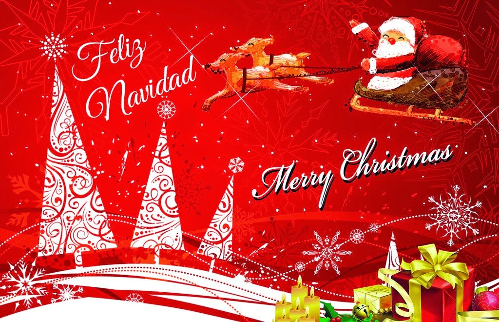 Imagenes De Tarjetas De Navidad. Postales De Navidad Recicladas ...