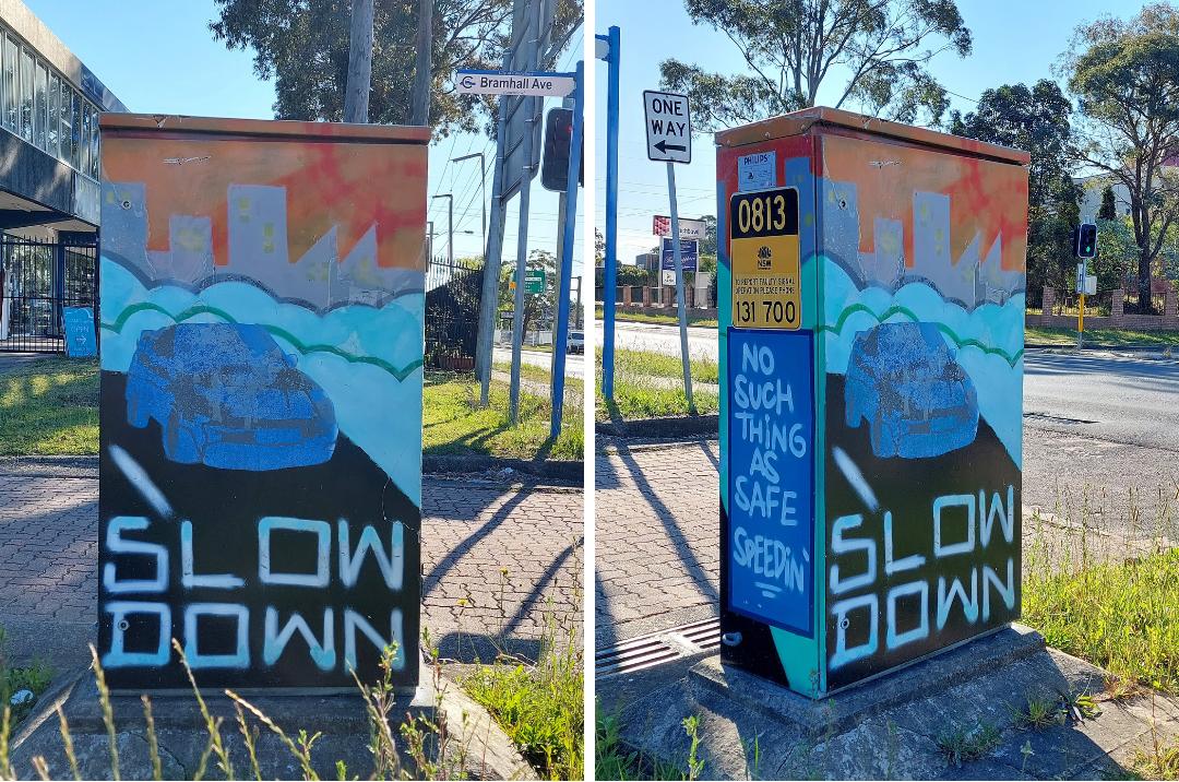 Punchbowl Street Art   Signal Box