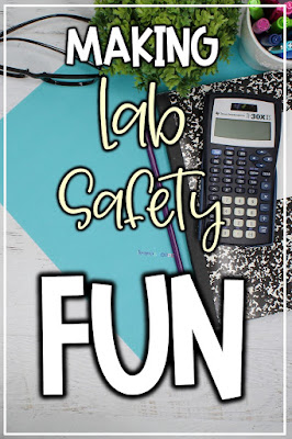 engage grade 5 6 7 students in lab safety fun using these 3 ideas for the back to school season