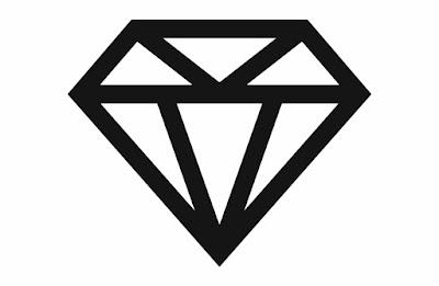 Desenhos de diamantes