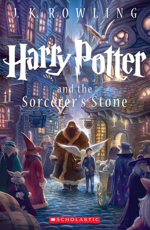 Harry Potter and the Socerer's Stone cover