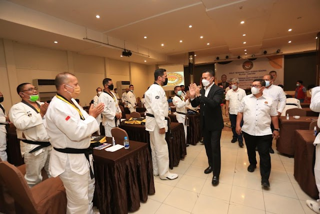 Sumut Tuan Rumah Pelatihan Wasit Taekwondo Nasional dan Daerah