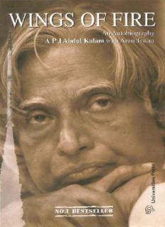 Wings Of Fire - Biography of APJ Abdul Kalam Read Free PDF Online