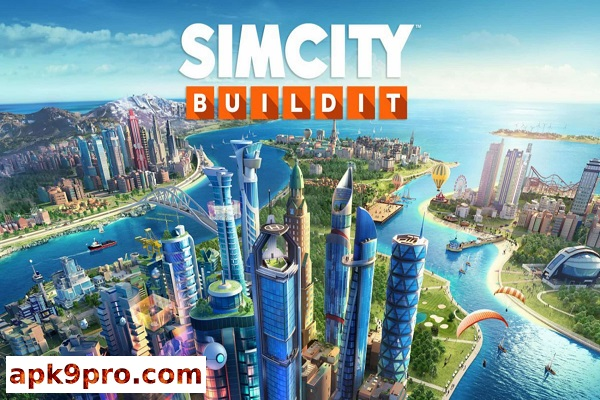 SimCity BuildIt 1.30.6.91708 Apk + MOD + Mega (File size 114 MB) for Android