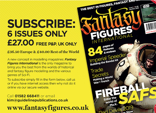 FANTASY FIGURES INTERNATIONAL Magazine photo