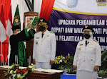 Gubernur Ganjar Lantik RH Agus Bastian SE MM dan Hj Yuli Hastuti SH Sebagai Bupati dan Wakil Bupati Purworejo