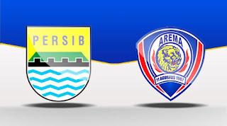 Arema FC Siap 100% Bungkam Persib Bandung