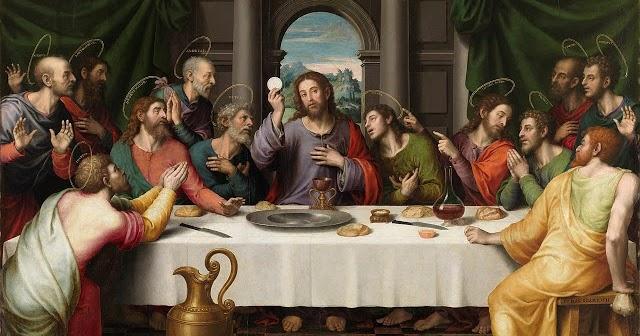 MI JESÚS EL BUEN PASTOR: Última Cena - Jueves Santo - Semana Santa 2019