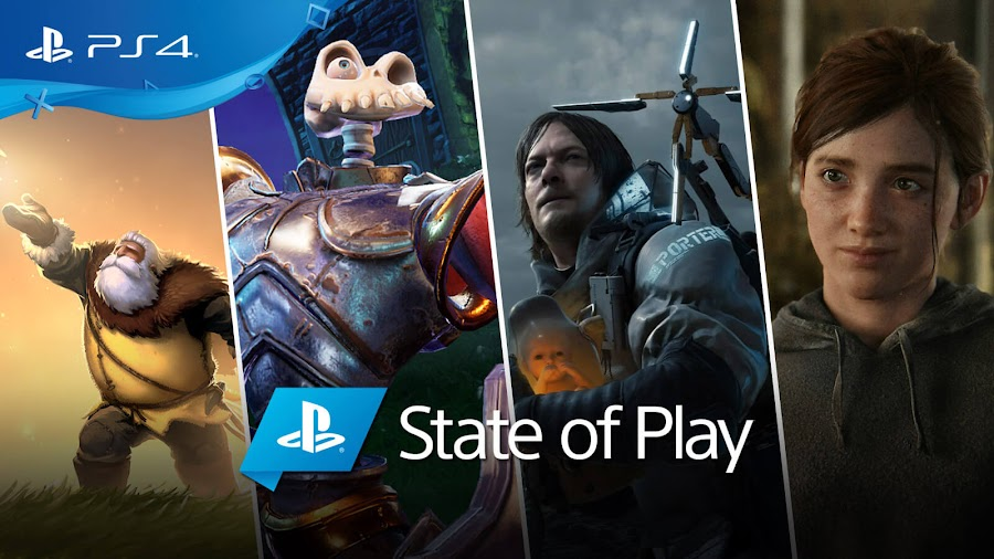 playstation state of play 2019 announcements sony ps4 arise a simple story medievil death stranding the last of us part 2