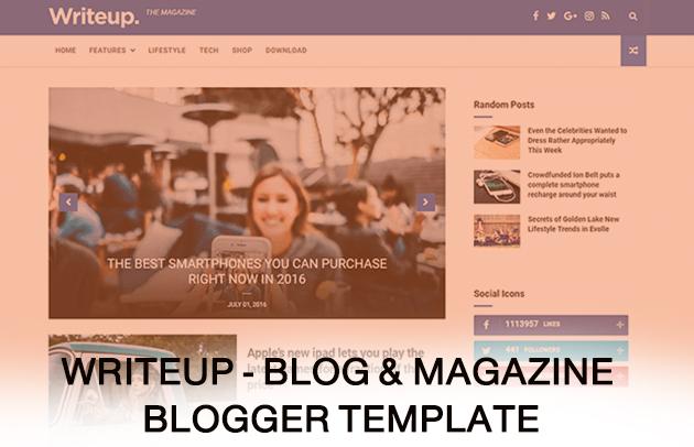 تحميل قوالب بلوجر احترافية يمكنك البدء بها في مدونتك ! الجزء الاول #1