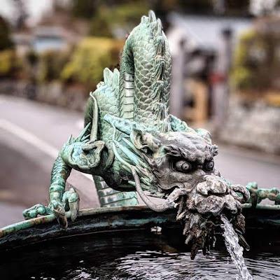 Nikko day trip from Tokyo: Dragon fountain