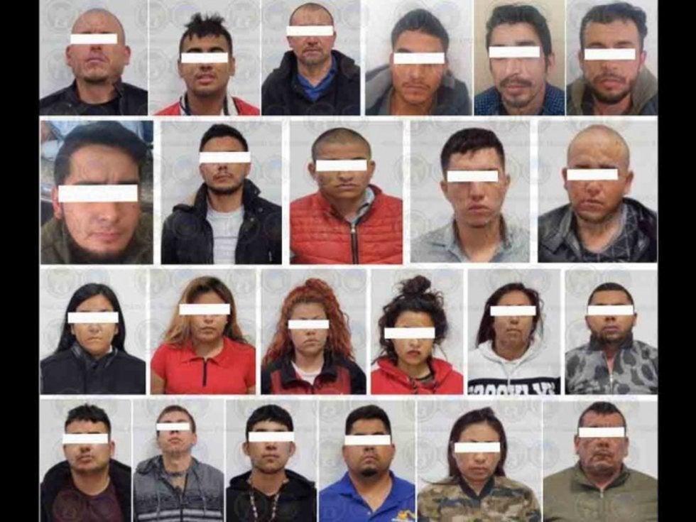 """Elementos Federales y Estatales dan duro golpe a """"El Mencho"""", detienen 24 integrantes del CJNG en Guanajuato"""