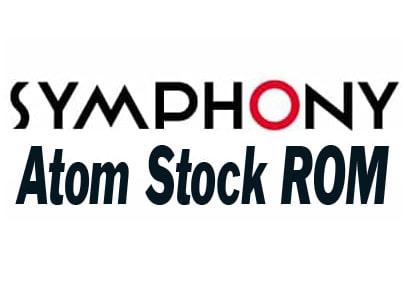 Symphony Atom Stock ROM