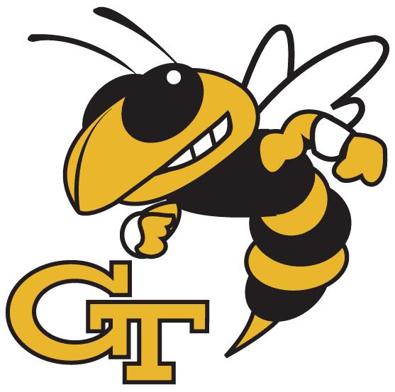 georgia tech football yellow outlook jackets ga buzz emblem ez silhouette institute technology gt jacket logos wonder futures college