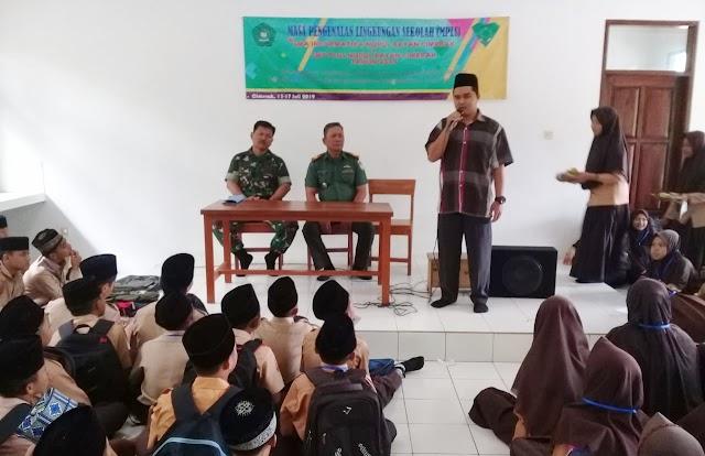 Pelajar SMP dan SMA Nurul Bayan Ikuti Pembinaan Kesadaran Bela Negara