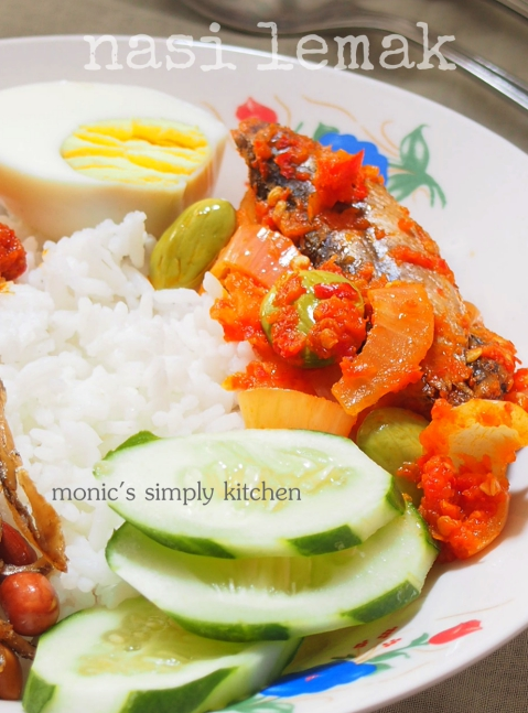 resep nasi lemak rice cooker simple