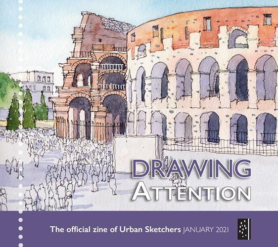 Drawing Attention - January 2021 thumbnail