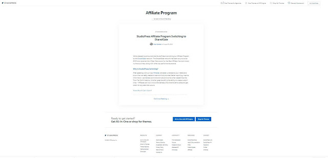 make money with StudioPress Affiliate