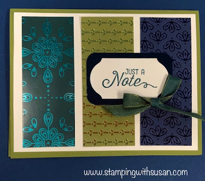 Stampin' Up!, Noble Peacock DSP, Royal Peacock, Flourishing Phrases, www,stampingwithsusan.com,