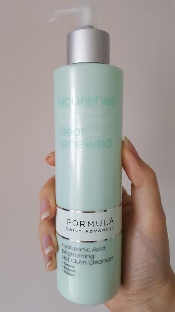 Formula Hyaluronic Acid Brightening Hot Cloth Cleanser