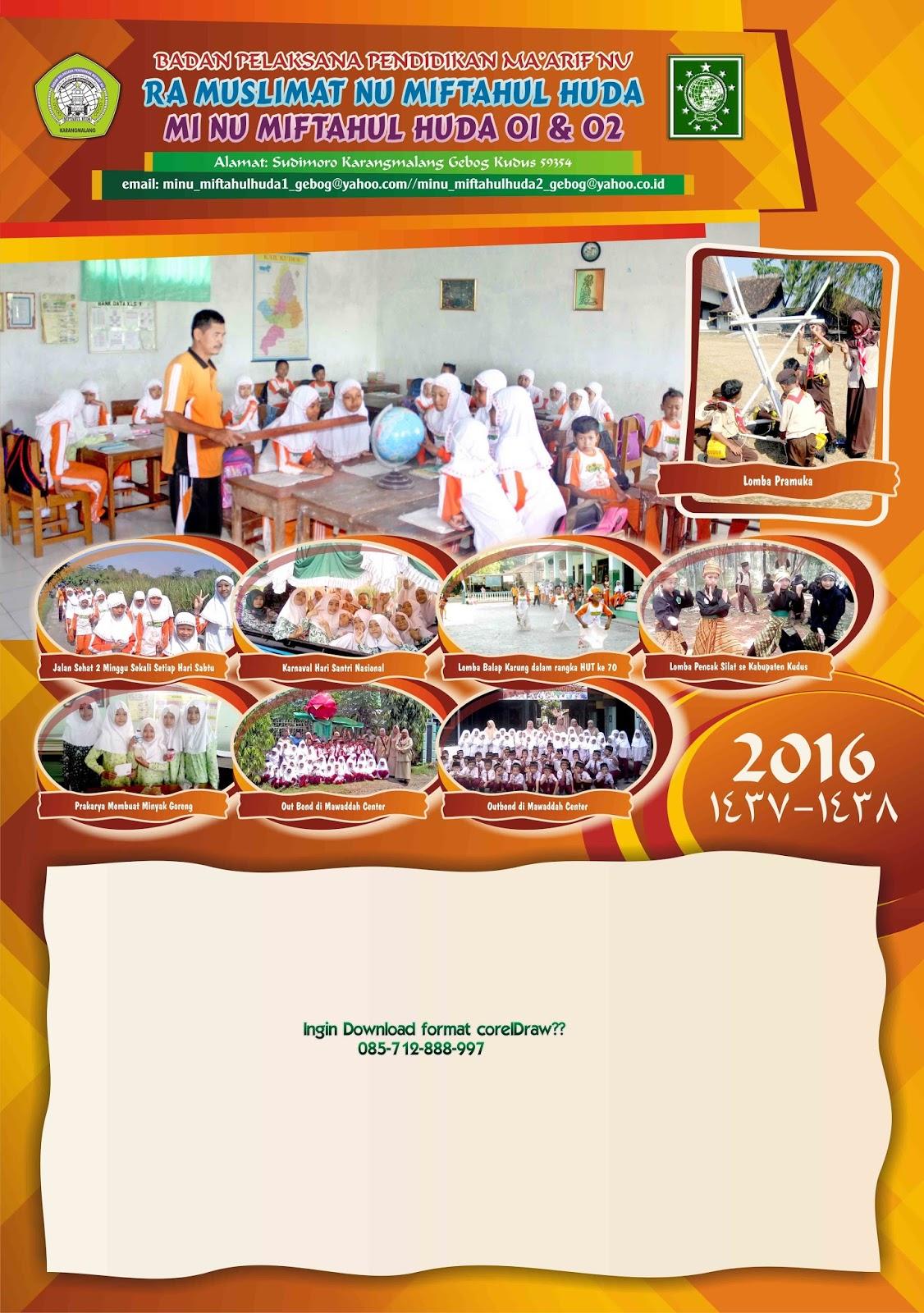 Desain Kalender: Desain Kalender 2016 part 9 (2 bulan per ...