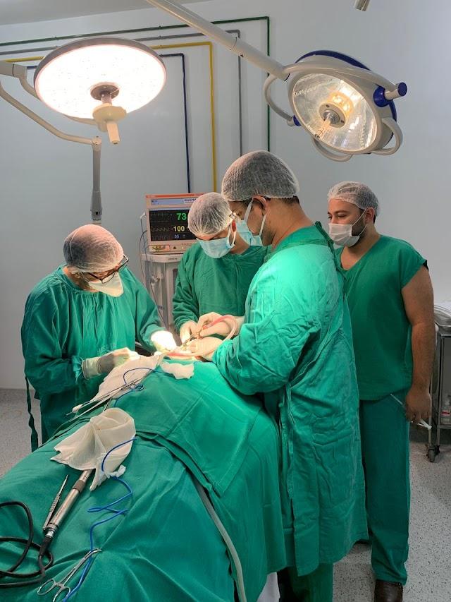 Governo inicia cirurgia bucomaxilofacial no Hospital Macrorregional de Santa Inês