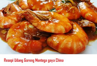 udang goreng mentega Chinese Food