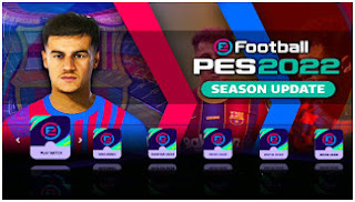 Download PES 2022 PPSSPP English Version New Straight Grass Best Graphics HD & New Update Realistic Face
