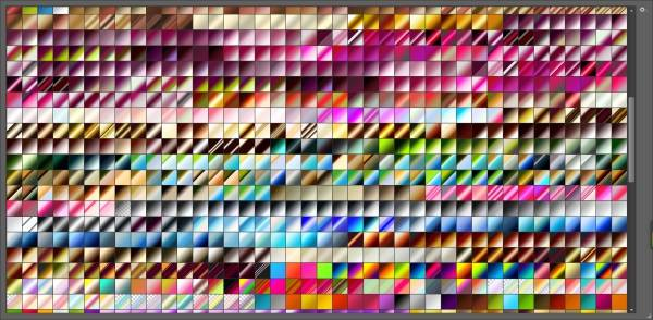 Share File GRD 500 Loại Gradients Photoshop