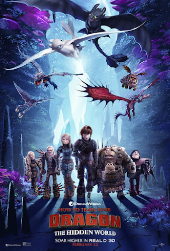 How to Train Your Dragon: The Hidden World (BRRip 1080p Dual Latino / Ingles) (2019)