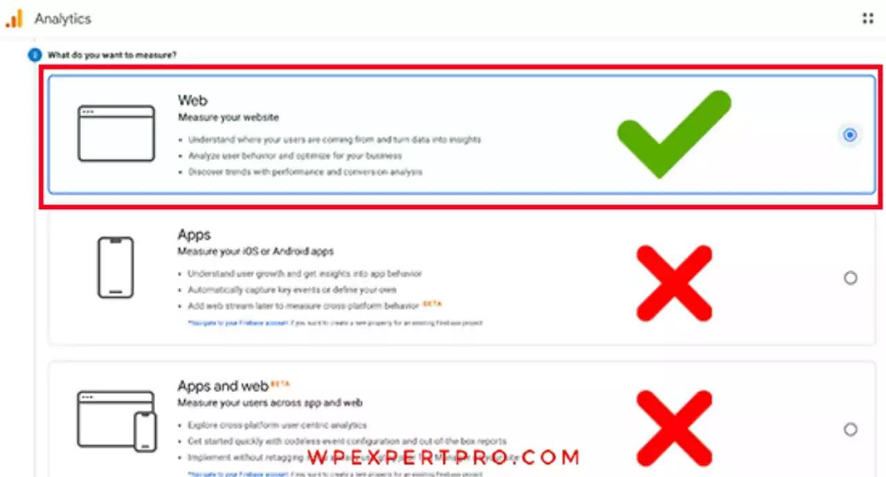 Choose web